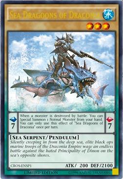 Sea Dragoons of Draconia - CROS-ENSP1 - Ultra Rare - Limited Edition