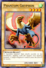 Phantom Gryphon - CROS-EN001 - Common - 1st Edition