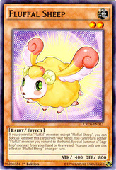 Fluffal Sheep - CROS-EN011 - Common - 1st Edition