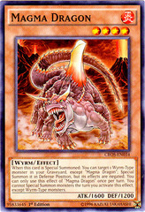 Magma Dragon - CROS-EN034 - Common - 1st Edition