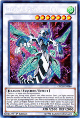 Clear Wing Synchro Dragon - CROS-EN046 - Secret Rare - 1st Edition on Channel Fireball