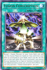 Fusion Conscription - CROS-EN053 - Rare - 1st Edition