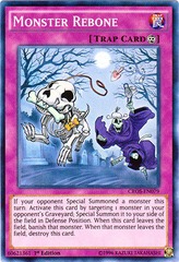 Monster Rebone - CROS-EN079 - Super Rare - 1st Edition