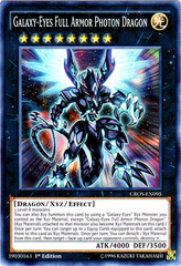 Galaxy-Eyes Full Armor Photon Dragon - CROS-EN095 - Super Rare - 1st Edition on Channel Fireball