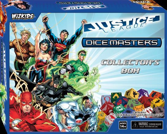 DC Dice Masters: Justice League Collectors Box