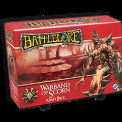BattleLore Warband of Scorn  Army Pack