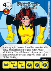Kitty Pryde: On a Mission - Marvel Dice Masters Promo
