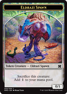 Eldrazi Spawn Token (2)
