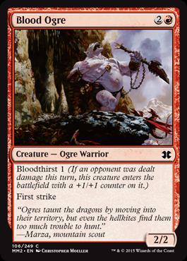 Blood Ogre - Foil