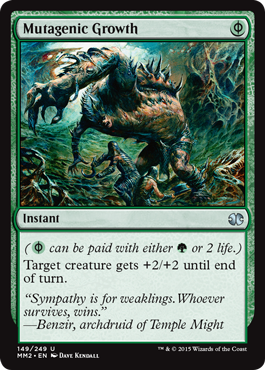 Mutagenic Growth - Foil