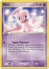 Mew - 111/110 - Non-Holo Theme Deck Exclusive