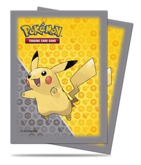 Pokemon Ultra PRO Pokemon Sleeves 65ct Pack Pikachu Grey