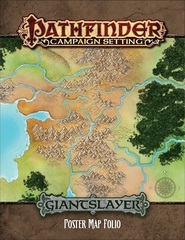 Pathfinder Campaign Setting Giantslayer Poster Map Folio