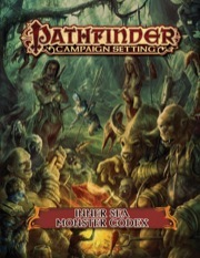 Pathfinder Campaign Setting: Inner Sea Monster Codex (PFRPG)