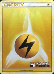 Lightning Energy - 2010 Crosshatch Holo Play! Pokemon Promo
