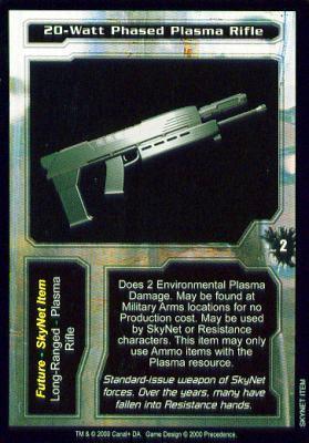 20-Watt Phased Plasma Rifle