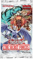 Yu-Gi-Oh The Secret Forces Unlimited Booster Pack
