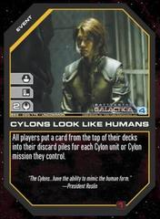 Cylons Look Like Humans