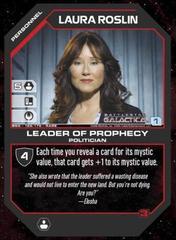 Laura Roslin Leader of Prophecy
