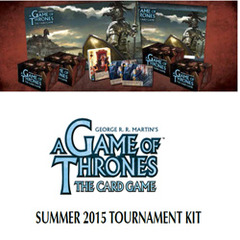 A GAME OF THRONES - LIVING CARD GAME: TOURNAMENT KIT