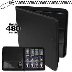 BCW Z-Folio 12-Pocket LX Album - Black