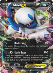Absol-EX - XY62 - Mega Absol-EX Premium Collection