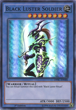 Black Luster Soldier - DPBC-EN006 - Super Rare - 1st Edition