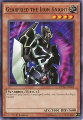 Gearfried the Iron Knight - DPBC-EN022 - Common - 1st Edition