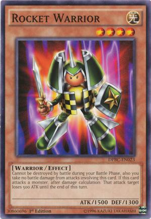 Rocket Warrior - DPBC-EN023 - Common - 1st Edition