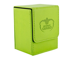 Ultimate Guard Flip Deck Case 80+ - green