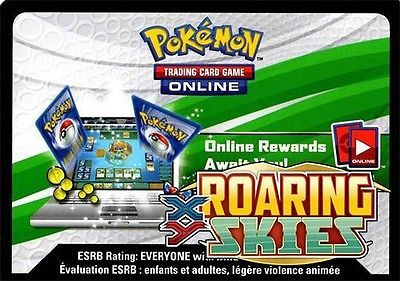 XY Roaring Skies - Online Booster Pack Code