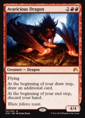 Avaricious Dragon on Channel Fireball