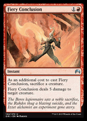 Fiery Conclusion - Foil on Channel Fireball