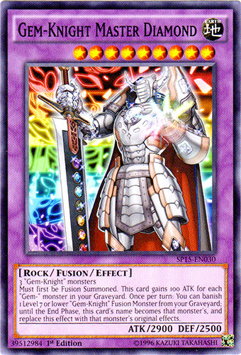 Gem-Knight Master Diamond - SP15-EN030 - Common - 1st Edition
