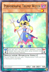Performapal Trump Witch - SP15-EN027 - Common - 1st Edition