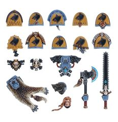 Space Wolves Upgrade Pack ( w1012 )