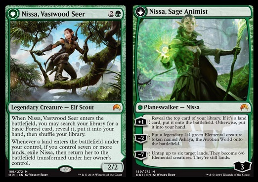PRIMORDIAL SAGE NM mtg Commander Anthology Green Spirit Rare