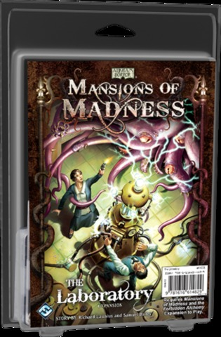 Mansions of Madness - The Laboratory - In Store Sales Only