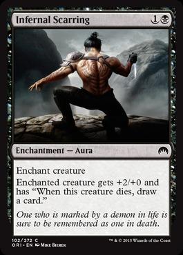 Infernal Scarring - Foil