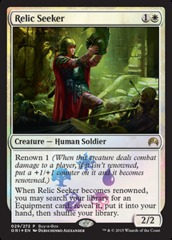 Relic Seeker (Magic Origins Buy-a-Box Promo)