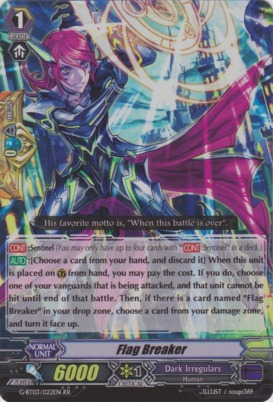 Flag Breaker - G-BT03/022EN - RR