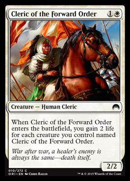 Cleric of the Forward Order
