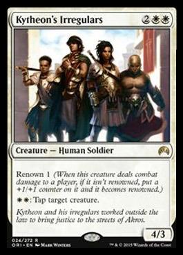 Losse kaarten MTG MAGIC ORIGINS Magic: The Gathering, MTG) Kytheon's Irregulars