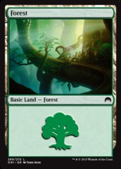 Forest (269) - Foil on Channel Fireball