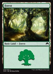 Forest (270) - Foil on Channel Fireball