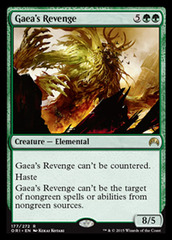 Gaea's Revenge on Channel Fireball