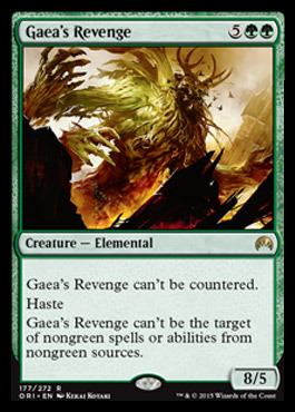 Gaeas Revenge - Foil