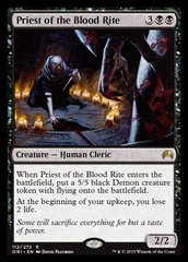 Priest of the Blood Rite - Foil