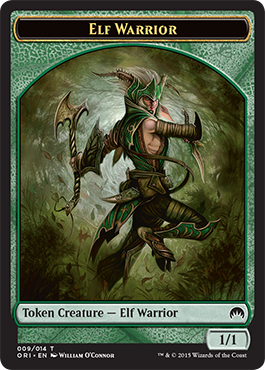 WURM TOKEN NM mtg Eternal Masters Green Token Com