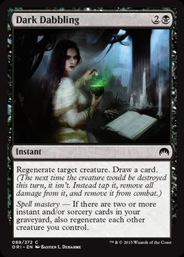 Dark Dabbling - Foil